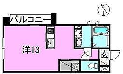 サクラガーデン[202 号室号室]の間取り