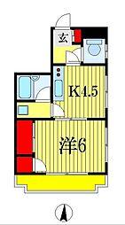 プリピア西船[3階]の間取り