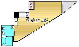 セントパレス鷺沼[3階]の間取り
