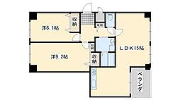 コスタ・ミラにしきのはま五番館[3階]の間取り