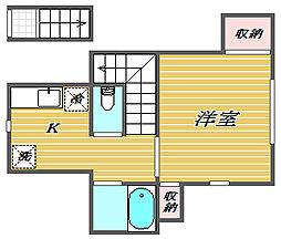 GRANT HOMES[2階]の間取り