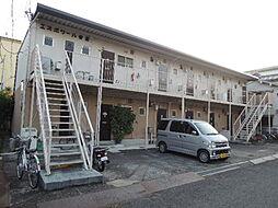 大阪府寝屋川市田井町の賃貸アパートの外観