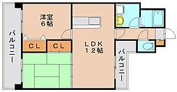 YGM新橋21[8階]の間取り