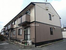 岡山県岡山市中区赤田丁目なしの賃貸アパートの外観