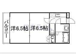 メゾンドイッセイ東寺[3階]の間取り
