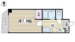 クレセント小台[302号室]の間取り