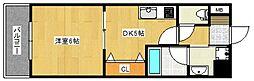 ルネッサンス21[14階]の間取り