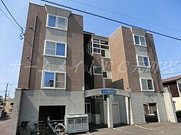 北海道札幌市東区北二十条東12丁目の賃貸マンションの外観