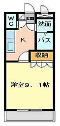 プランドール・ソフィア[3階]の間取り