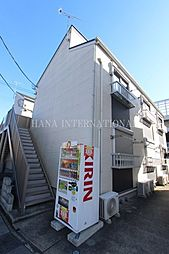 埼玉県草加市旭町5丁目の賃貸アパートの外観