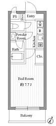 VIVA NAKAMACHI[0301号室]の間取り
