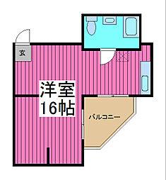 ヴィンテージ蕨[4階]の間取り