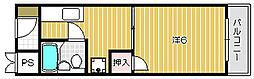 タイガーマンション[1階]の間取り