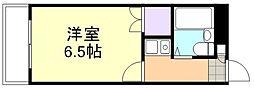 ウイング倉敷[3階]の間取り