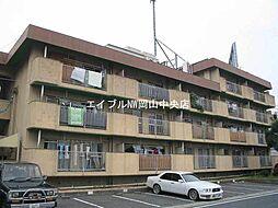 岡山県岡山市中区原尾島の賃貸マンションの外観