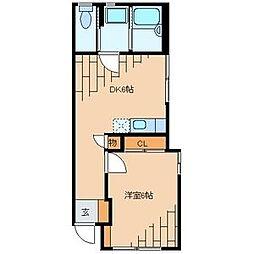 清水邸[1階]の間取り
