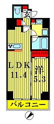プレール・ドゥーク押上IV[6階]の間取り