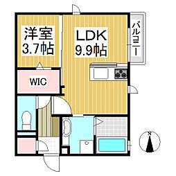 仮)中澤様D-room[1階]の間取り