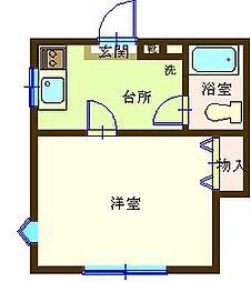 八幡宿駅 2.1万円