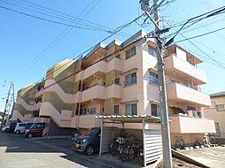 長野県長野市安茂里小市1丁目の賃貸マンションの外観