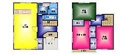 [一戸建] 静岡県三島市徳倉 の賃貸【/】の間取り