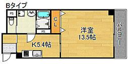 グッドライフTAMADE[4階]の間取り