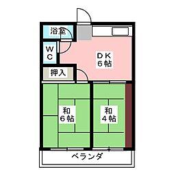 第1三建ビル[3階]の間取り