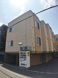 北海道札幌市手稲区曙六条3丁目の賃貸アパートの外観