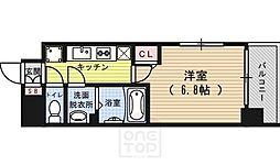 アスヴェル京都七条通[8階]の間取り