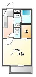 ソレジオコート[2階]の間取り