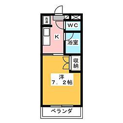 スイートピアfuji A棟[3階]の間取り