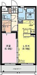 (仮称)日南・星倉マンション 1階1LDKの間取り