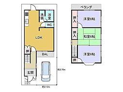 京都地下鉄東西線 椥辻駅 徒歩12分