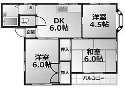 グレイスメゾンR[2階]の間取り