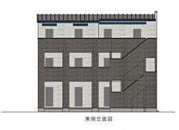 東京都葛飾区西亀有3丁目の賃貸アパートの外観