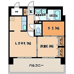 ロイヤルステージ吉塚[2階]の間取り