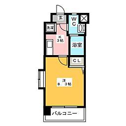 エンクレスト博多II[12階]の間取り