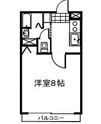 アグレアーブル28[3階]の間取り