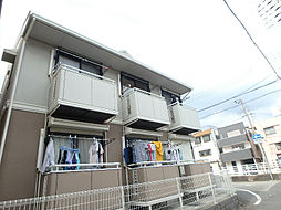 兵庫県神戸市灘区上河原通3丁目の賃貸アパートの外観