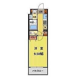 プランベイム滝子通(プランベイムタキコドオリ)[6階]の間取り