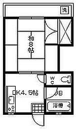 第2藤井ビル[303号室]の間取り
