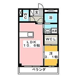 アンフォルム[1階]の間取り