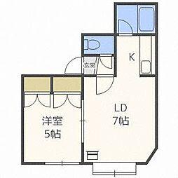 セクル43[2階]の間取り