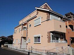 千葉県柏市豊町2の賃貸アパートの外観