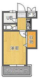 松本マンション[203号室]の間取り