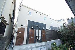 東京都大田区北馬込1丁目の賃貸アパートの外観