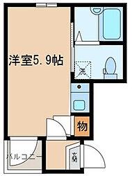 BONDS小台[2階]の間取り