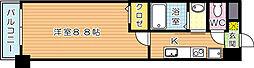 LE GRAND BLEUIII(グランブルーIII)[2階]の間取り