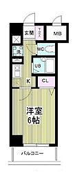 芝コーポ3号館 409号室[409号室]の間取り