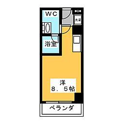 翔うらら[4階]の間取り